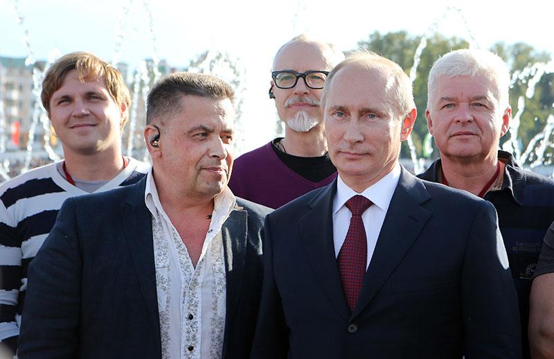 Владимир Путин и Николай Растаргуев
