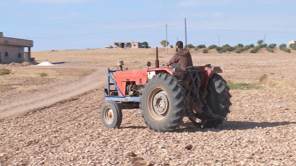 Фермер в Сирии