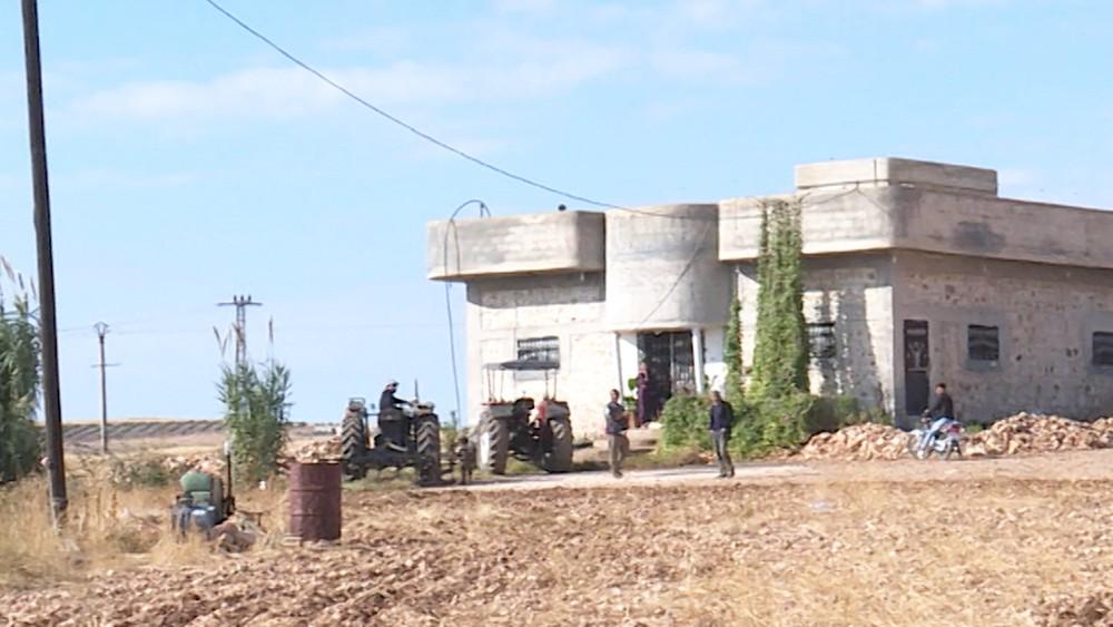 Фермеры в Сирии