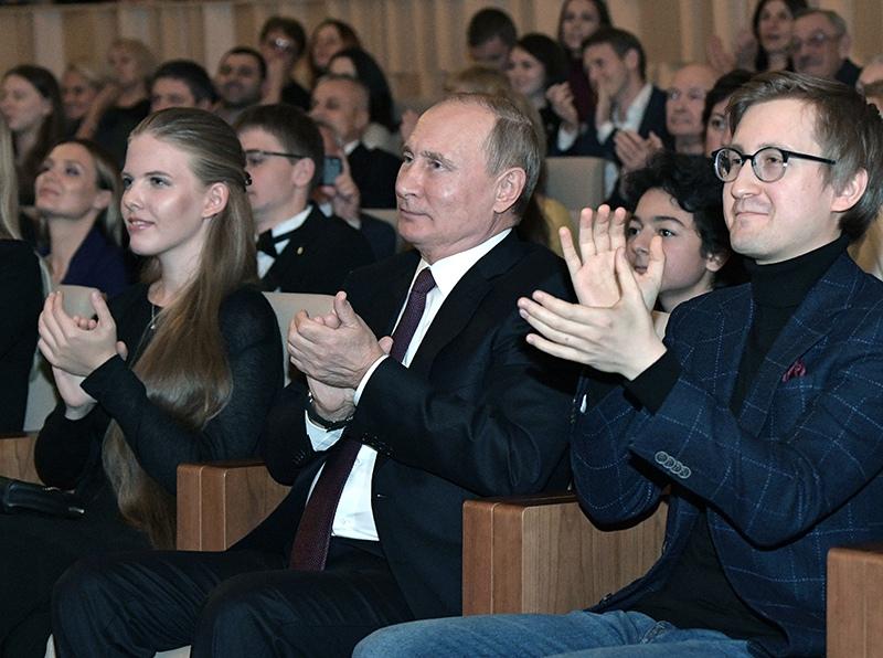 Владимир Путин на концерте Симфонического оркестра