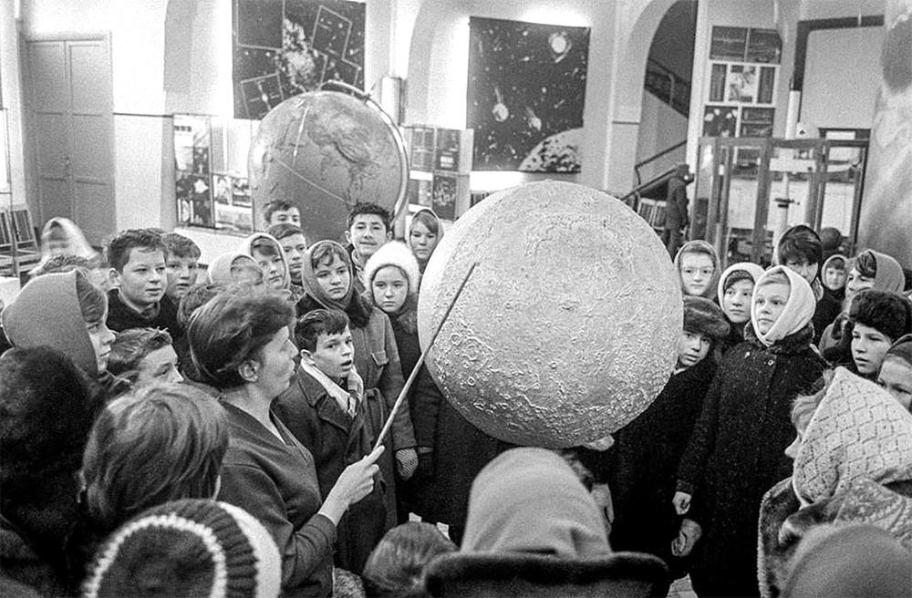 Архивные фото Московского планетария