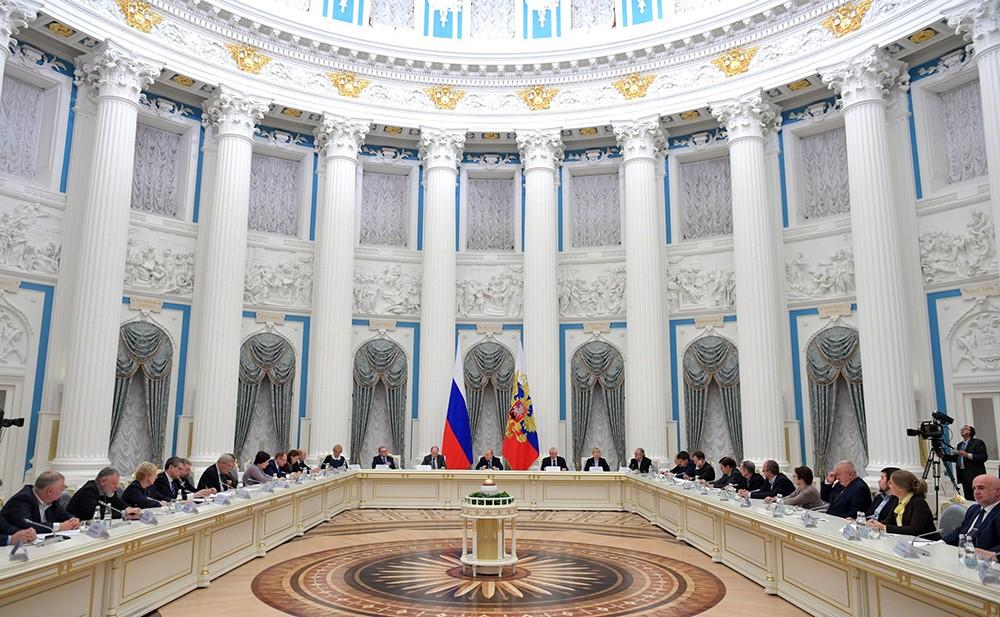 Екатерининский зал Кремля