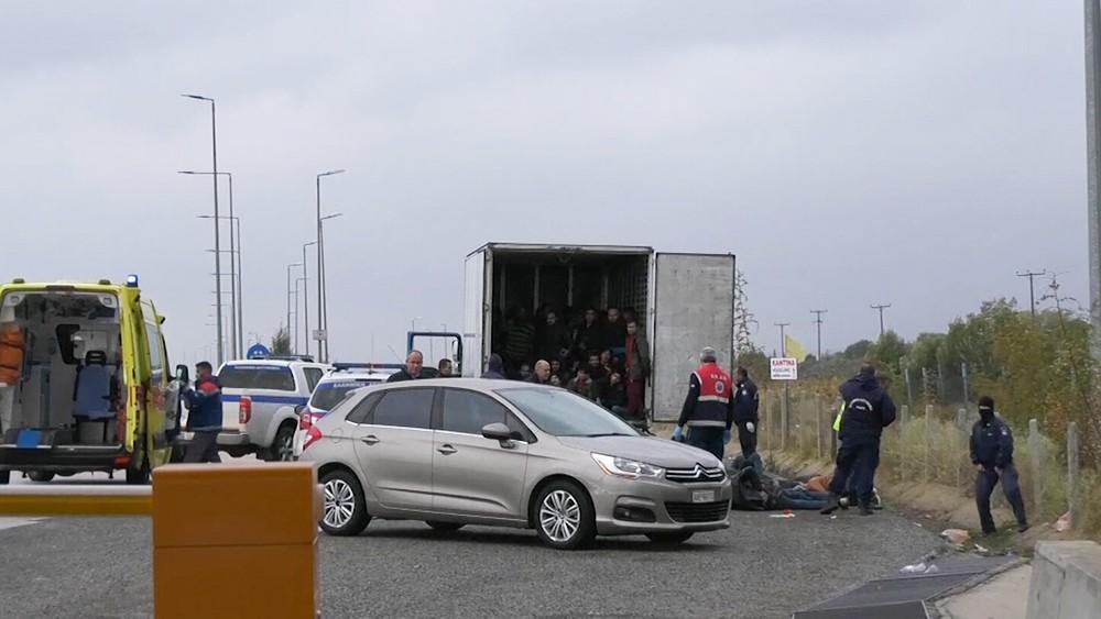 Нелегальный перевоз мигрантов в Европу