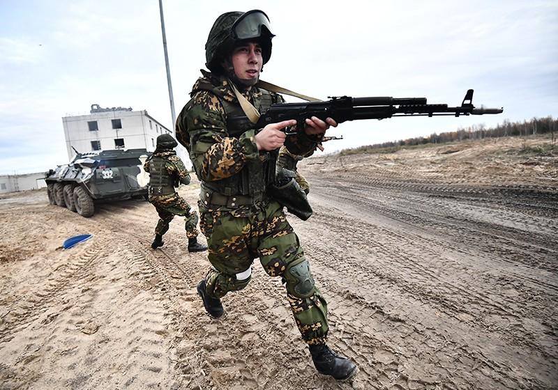 Военнослужащие армии Таджикистана