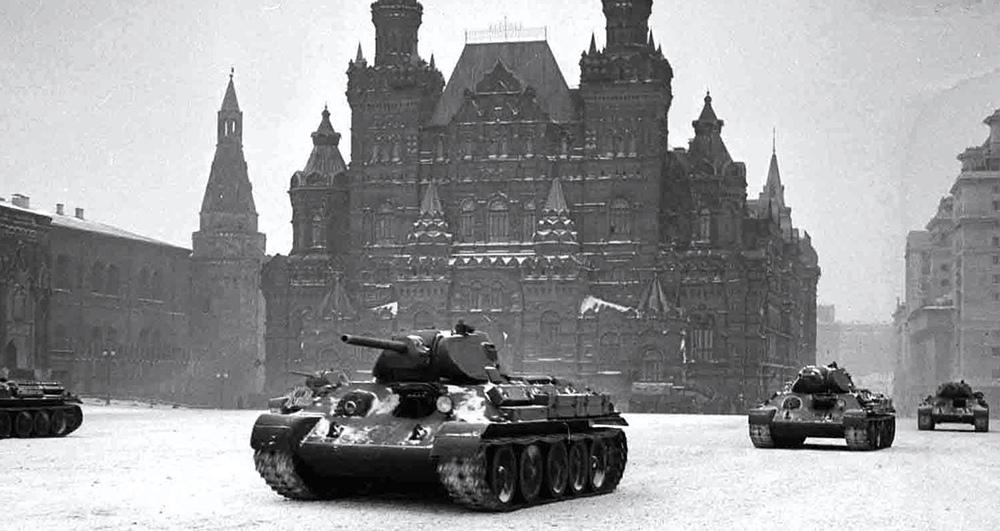 Военный парад на Красной площади 1941 года