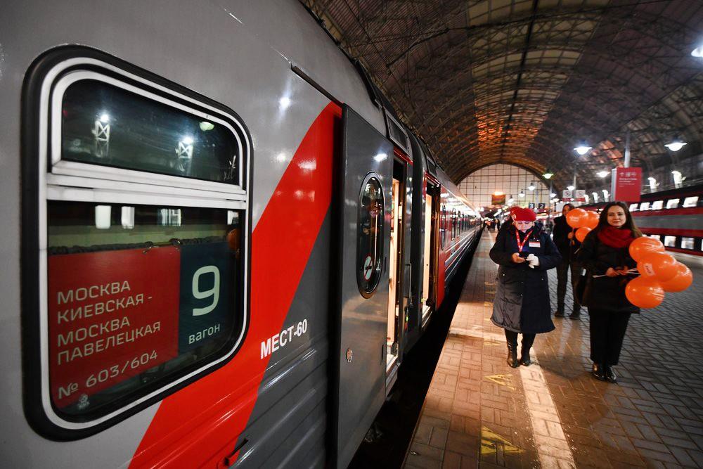 Запуск поезда между Павелецким и Киевским вокзалами через Тулу и Калугу