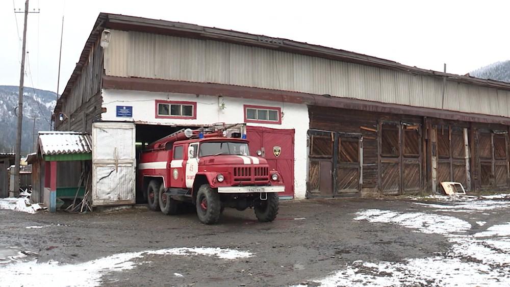 Пожарная часть в Хакасии
