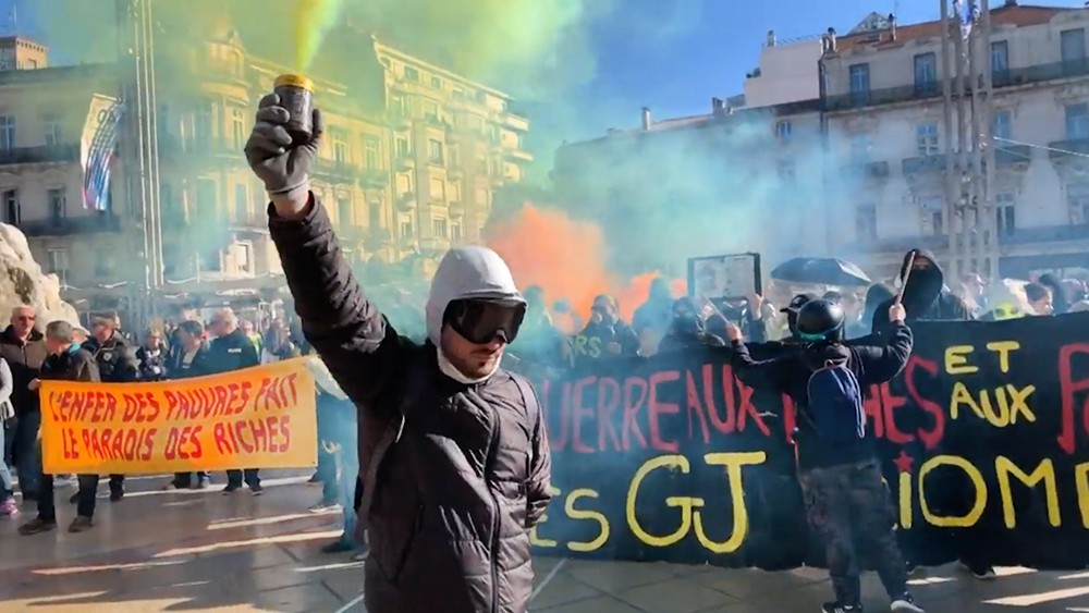 Протесты жёлтых жилетов