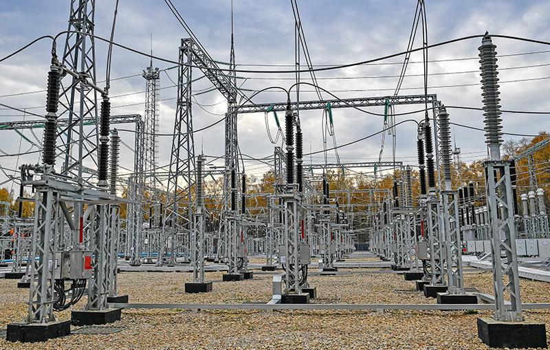 Трансформаторы электрической подстанции