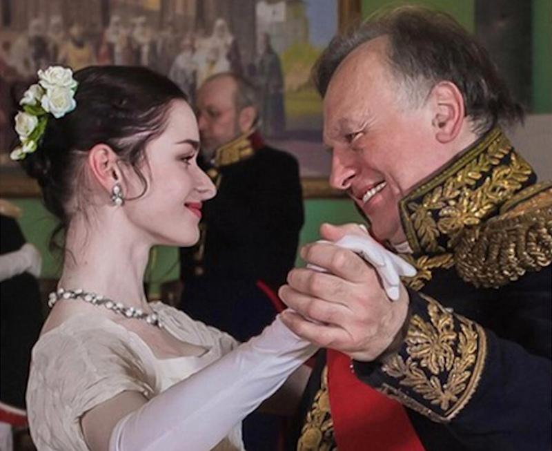 Историк Олег Соколов и Анастасия Ещенко