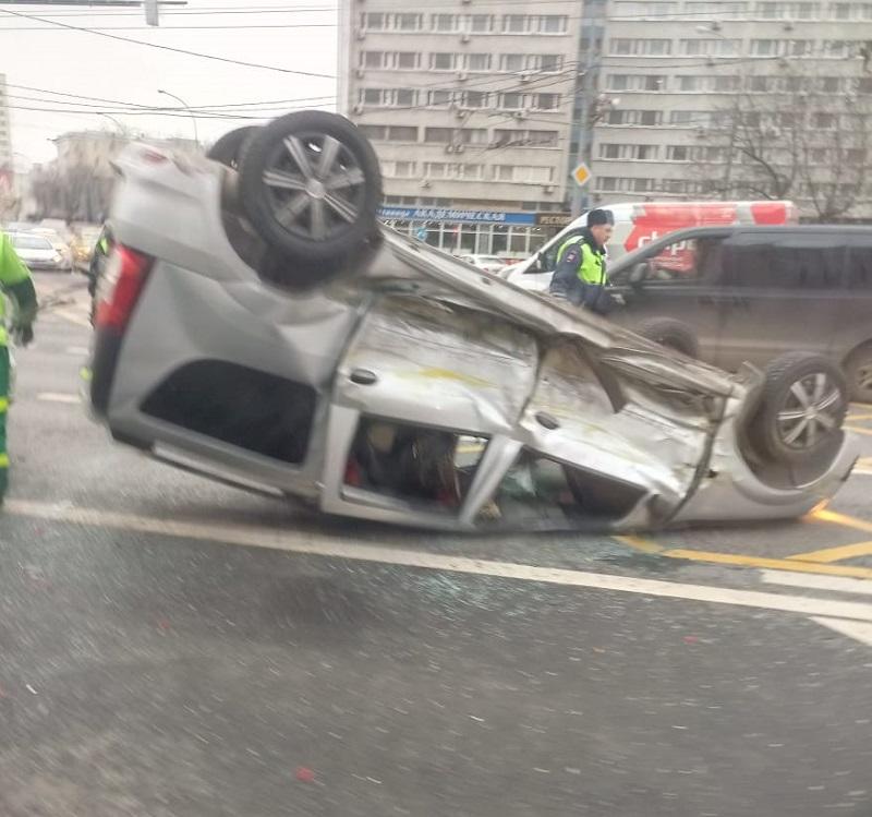 ДТП на Ленинском проспекте