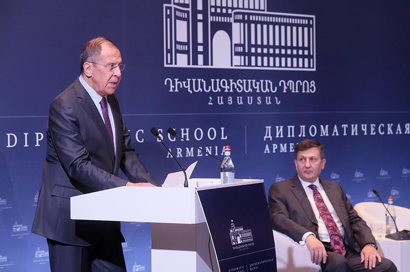 Визит главы МИД России Сергея Лаврова в Ереван