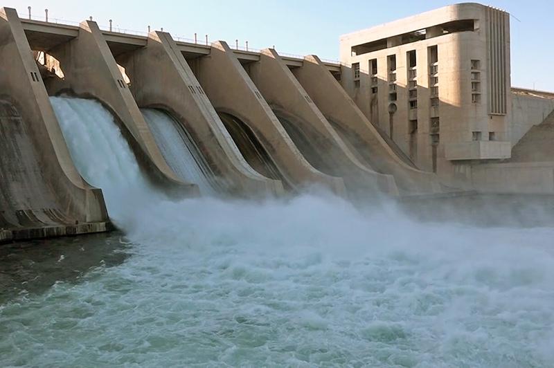 Электростанция в Сирии
