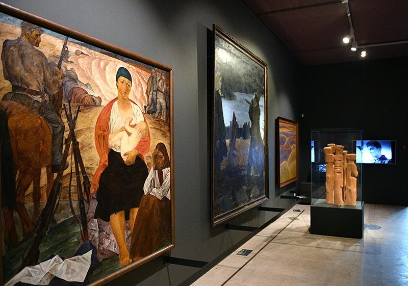 """Выставка """"Великая Отечественная война в изобразительном искусстве"""""""