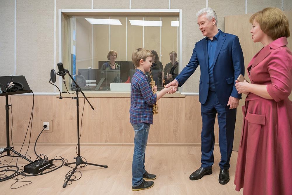Посещение нового здания детской музыкальной школы имени Ф. Листа