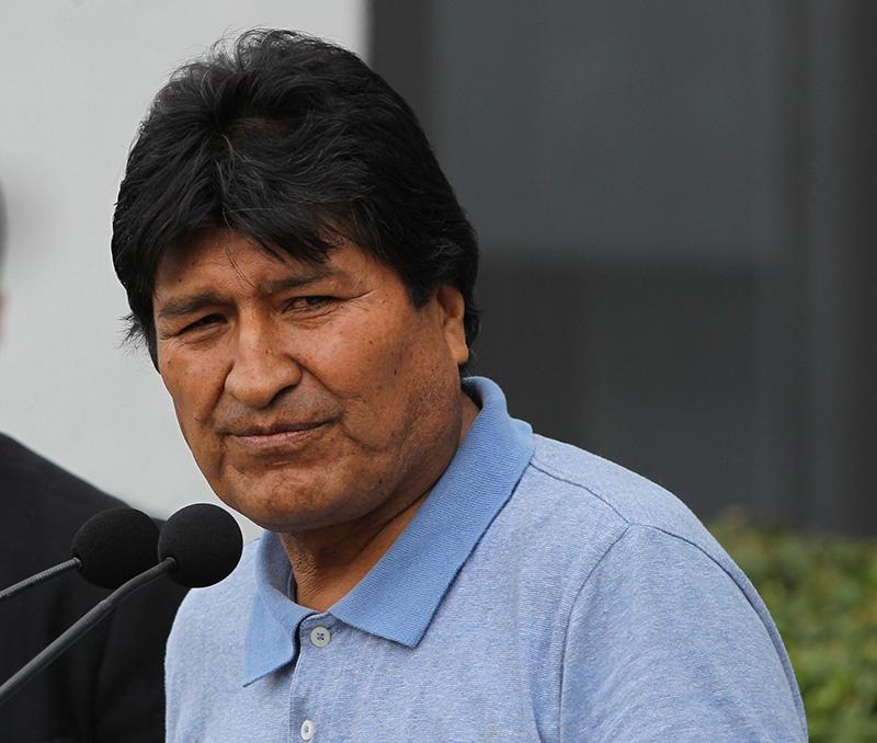 Эво Моралес в Мексике