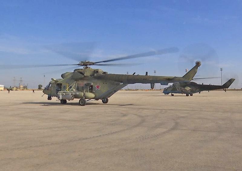 Российская авиационная комендатура на севере Сирии