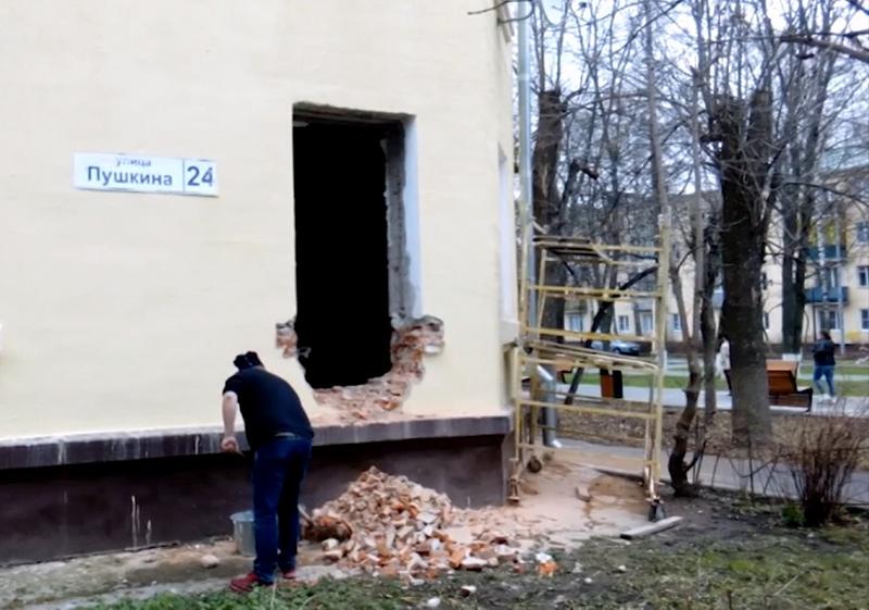 Реконструкции первого этажа в Щёлкове