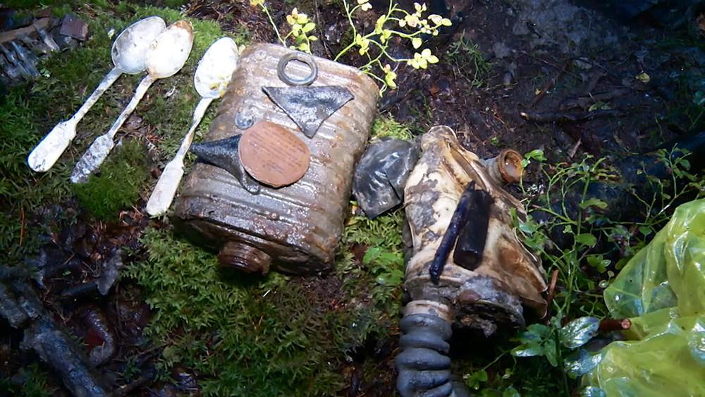 Найденные предметы во время войны