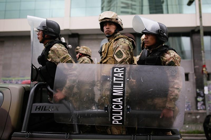 Полиции Боливии