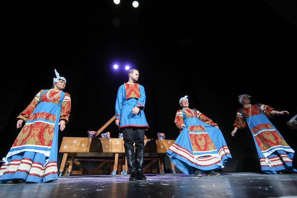 """Театральный фестиваль """"Серебряная астра"""" в рамках проекта """"Московское долголетие"""""""