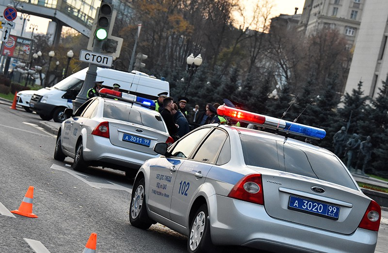 Полиция на месте драки