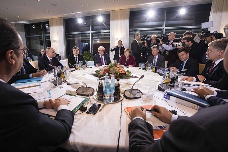 """Встреча лидеров стран """"нормандской четверки"""""""
