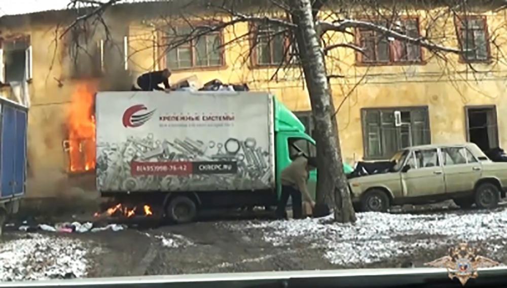 Пожар в Щелково
