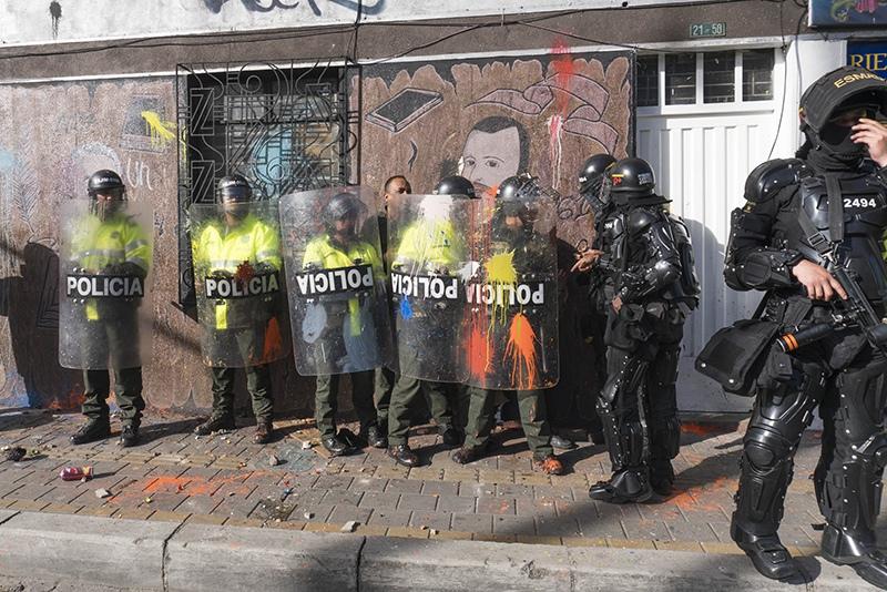 Беспорядки в Колумбии