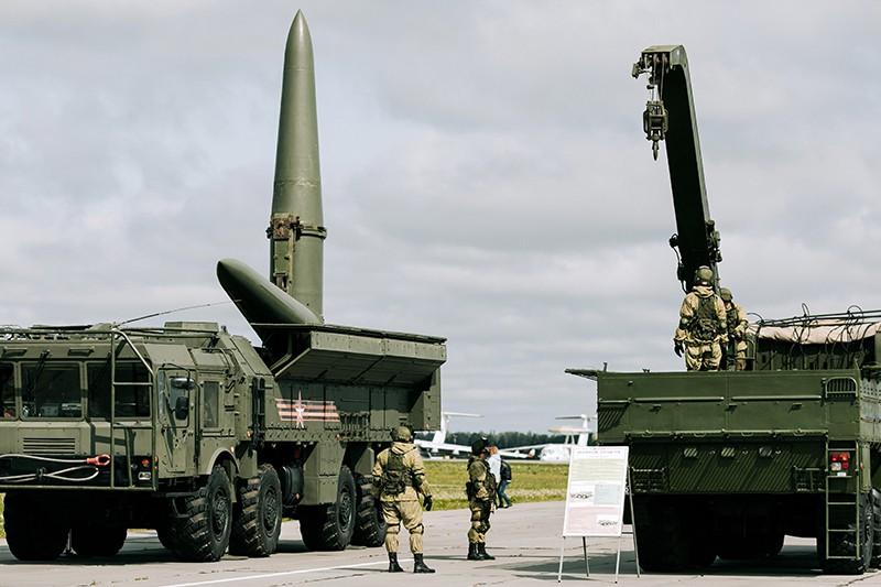 """Ракетный комплекс """"Искандер"""""""