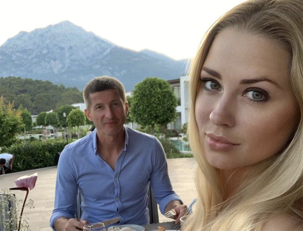 Евгений Алдонин c женой Ольгой