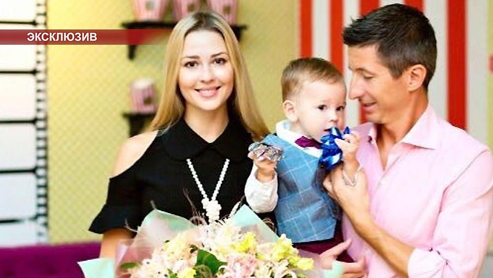 Ольга Алдонина, Евгений Алдонин и их сын