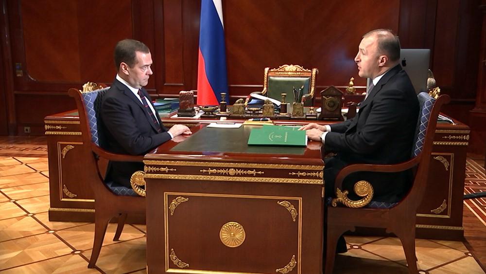 Владимир Медведев и Мурат Кумпилов