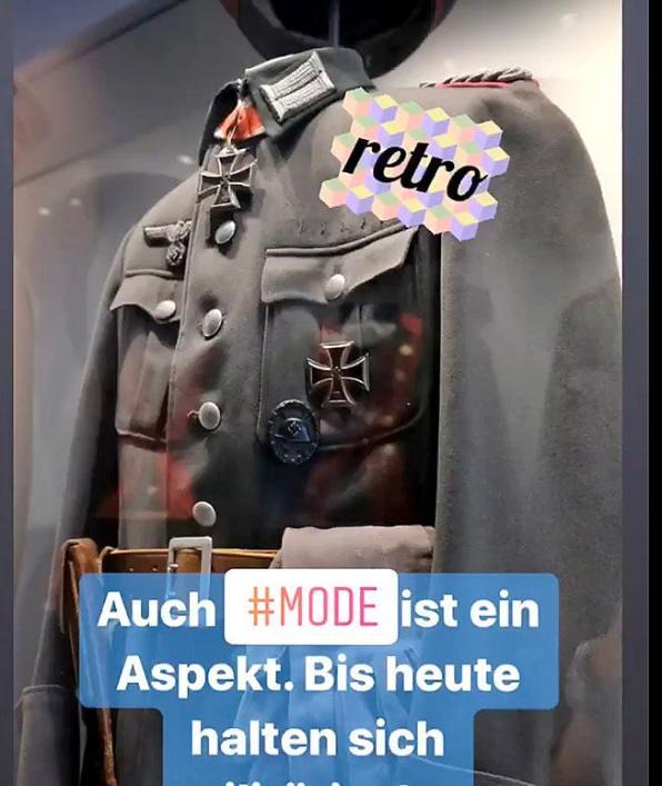 Скриншот из Instagram Бундесвера