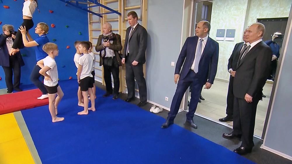 Владимир Путин посетил родной клуб дзюдо в Санкт-Петербурге