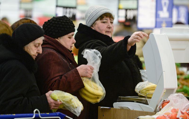 Покупатели супермаркета