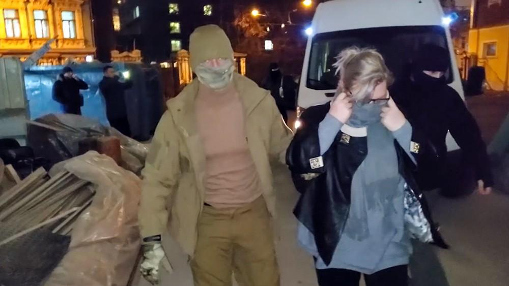 "Задержание члены банды ""Шараповские"""