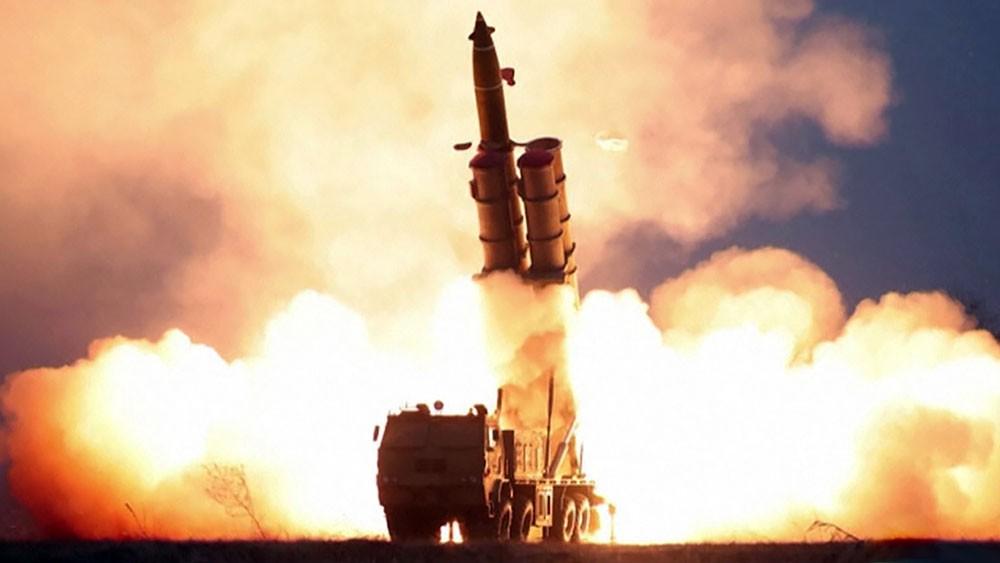 Пуск ракеты в КНДР