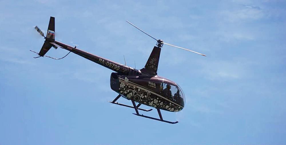 Вертолёт Robinson 66