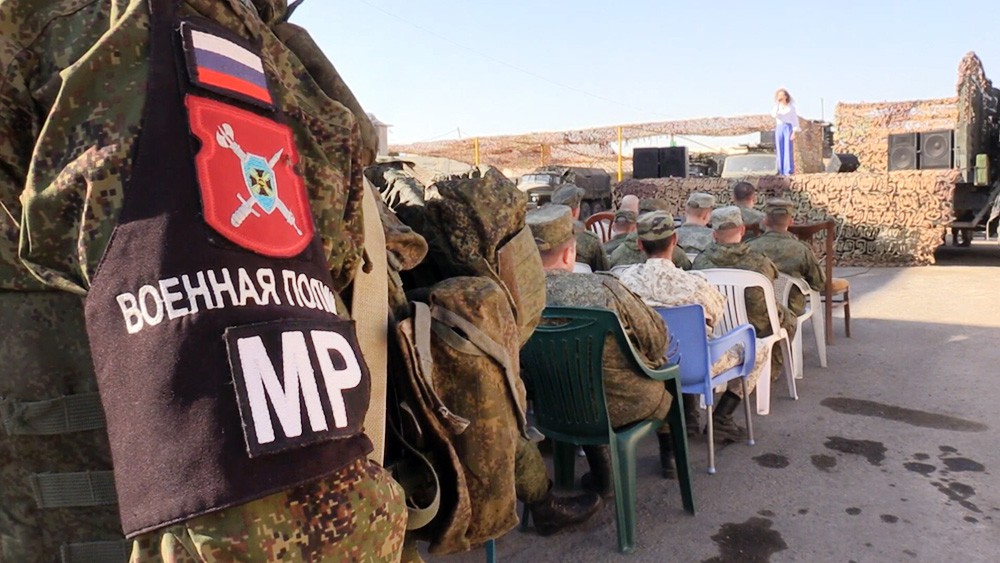 Концерт для военнослужащих в Сирии