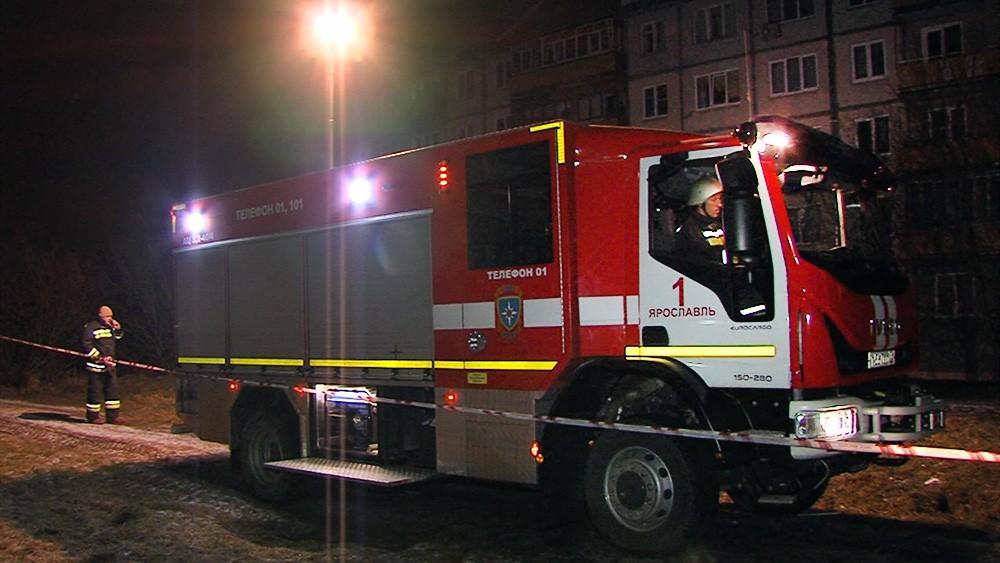 Пожарная машина в Ярославле