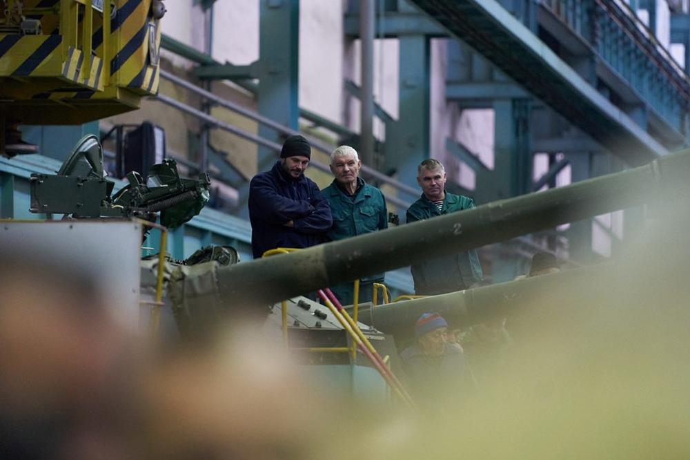 Завод оборонного комплекса на Украине