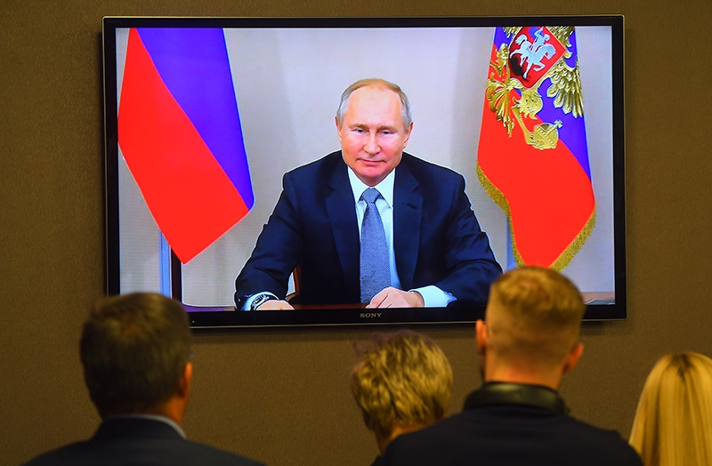"""Церемония начала поставок российского газа в КНР по """"восточному"""" маршруту"""
