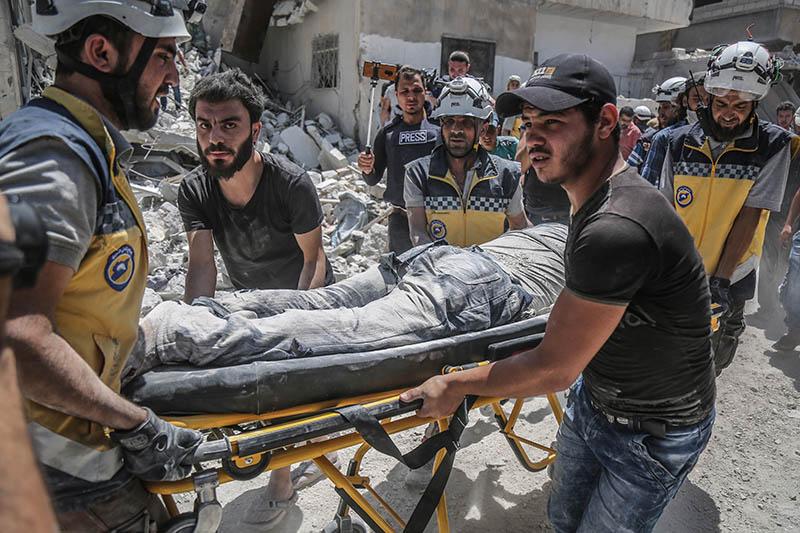 Белые каски в Сирии