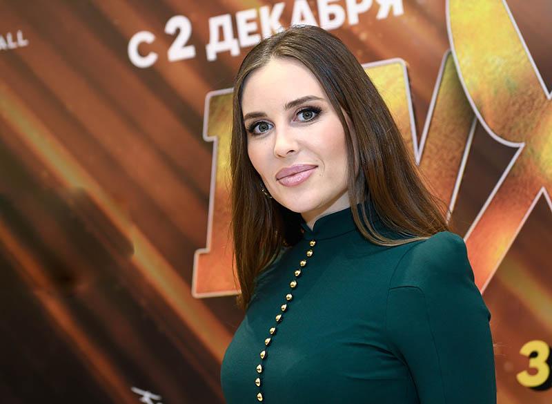 Российская актриса Юлия Михалкова