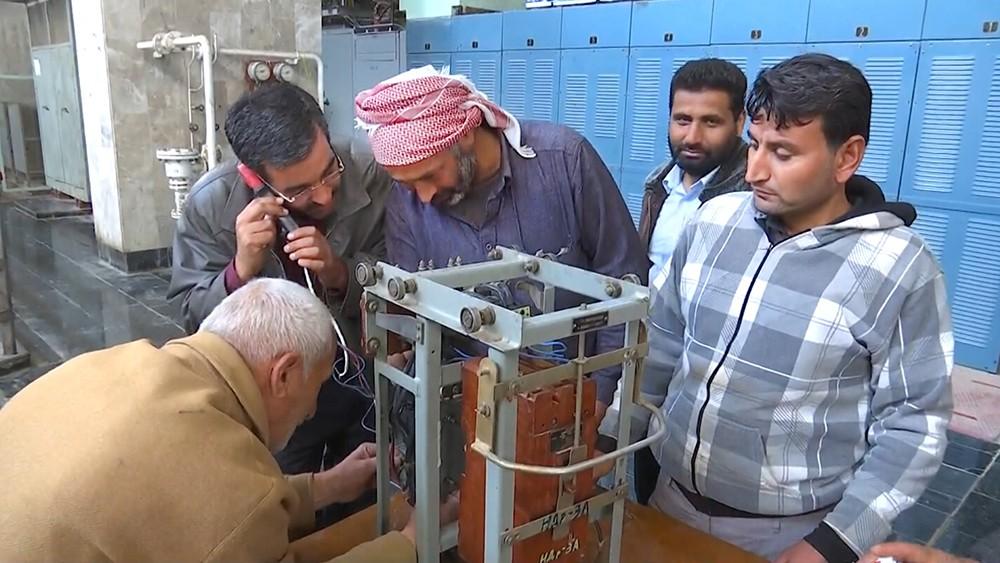 Восстановление ГЭС в Сирии