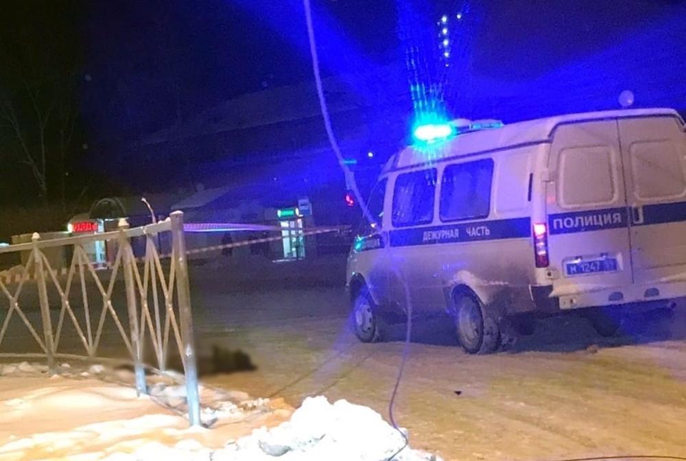 Полиция на месте перестрелки в Перми