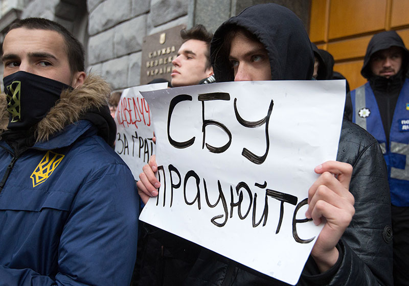 Политическая расправа: украинская оппозиция заявила о рейдах СБУ