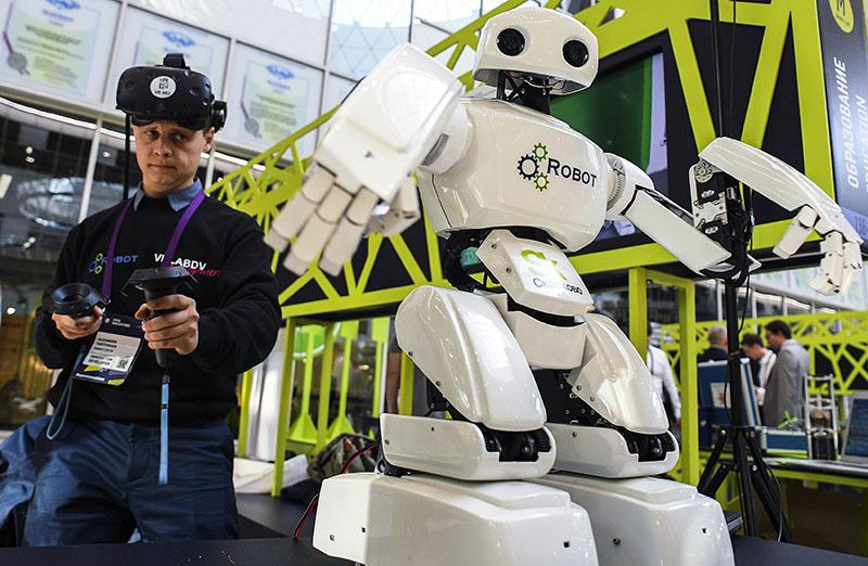Программируемый робот для образовательных целей и исследований