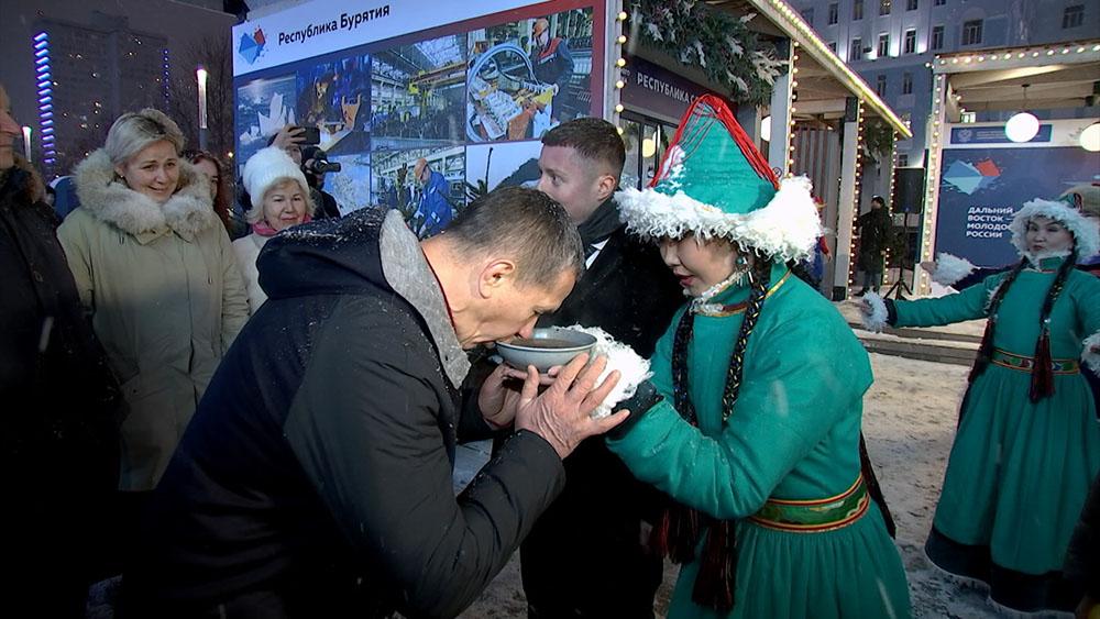 Дальневосточная ярмарка открылась в Москве